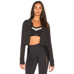 NWT Beyond Yoga Boxed In Cropped Jacket, Black S